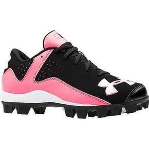Under Armour Girls Youth Sz3 Cleats